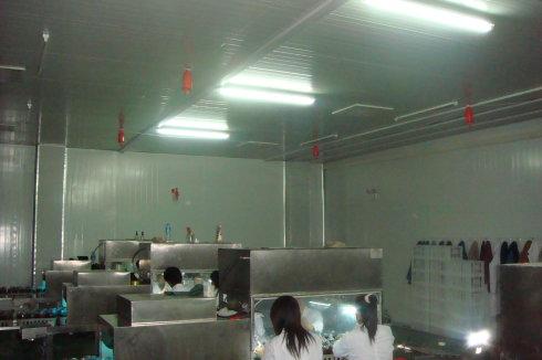 食用菌接种室消毒净化